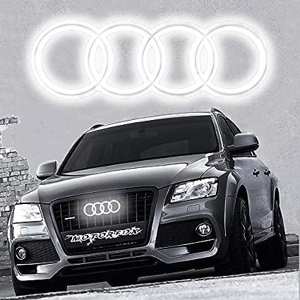 Led Emblema Logo Parrilla delantera iluminada con luz brillante ...