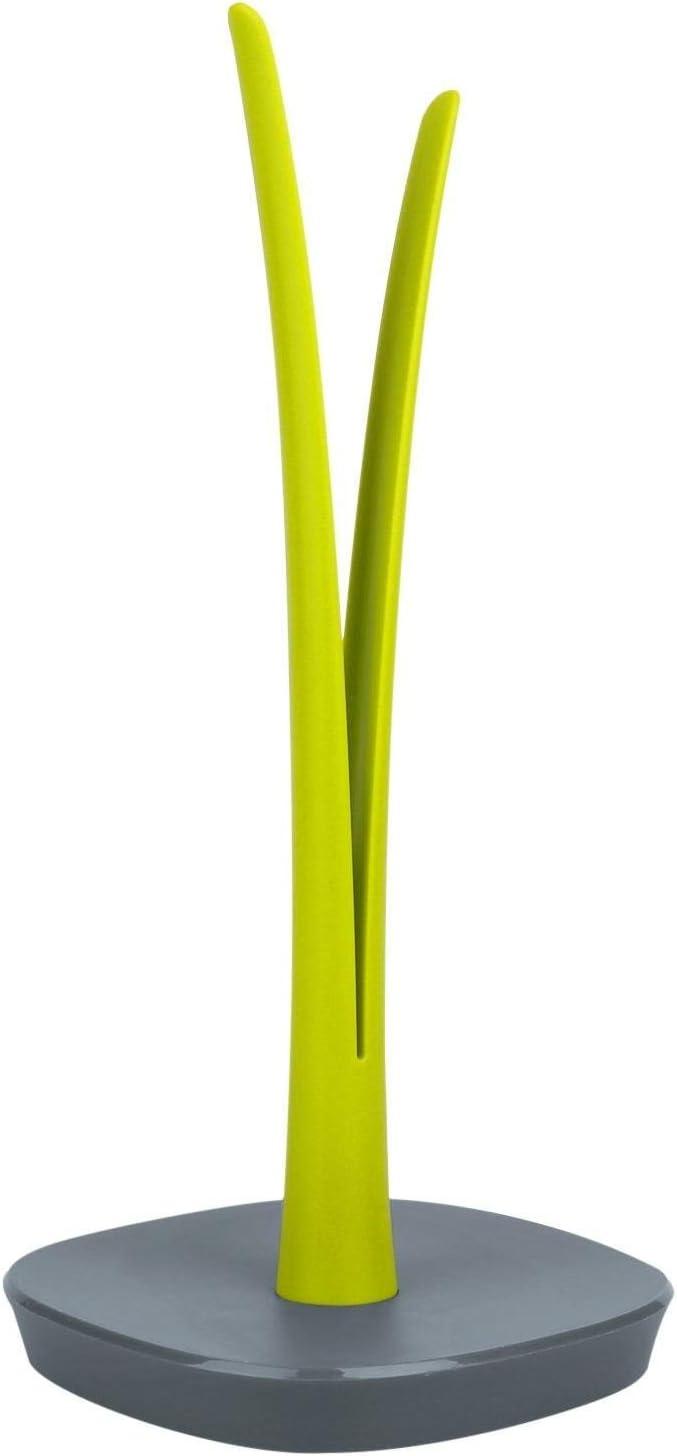 KOOK TIME Porte sopalin porte essuie tout pour la cuisine ou pour la table design de feuille 16 x 16 x 34,5 cm PVC // ABS
