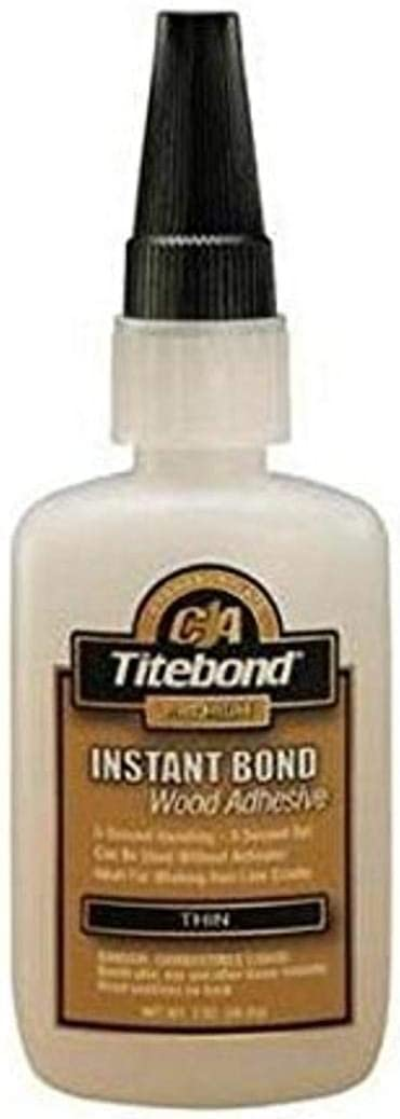 Titebond Instant Bond Wood Adhesive, Thin Viscosity