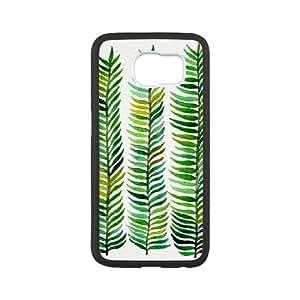 Samsung Galaxy S6 Cell Phone Case White Seaweed SH3982632