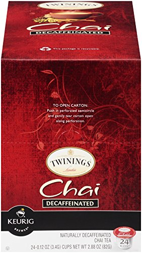Twinings Chai Decaf Tea, Keurig K-Cups, 24 Count