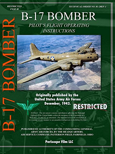 B-17 Bomber Pilot's Flight Operating Manual for sale  Delivered anywhere in USA