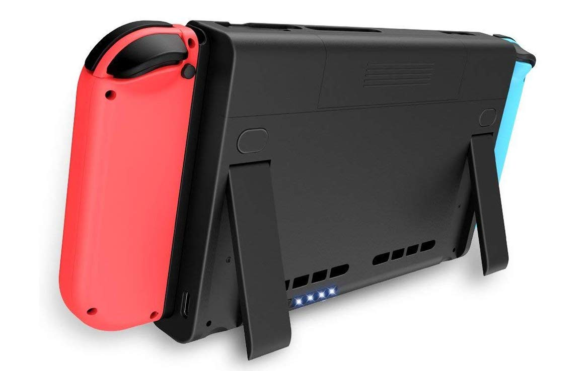 the latest 1fb0d ec21a for Nintendo Switch Battery Case 6500mAh Portable Charging Case Extended  Battery Juice Rechargeable Battery backup Power Bank for Nintendo Switch