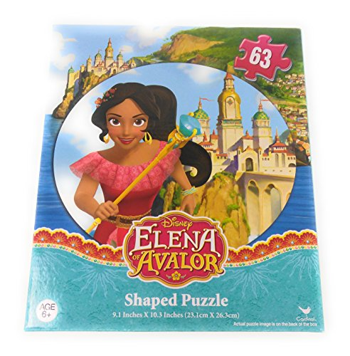 [Kids Hot SELLER 63 PICTURE MAY VARY Piece Shaped Jigsaw Puzzle Disney Elena of Avalor Square] (Homemade Disney Character Costumes)