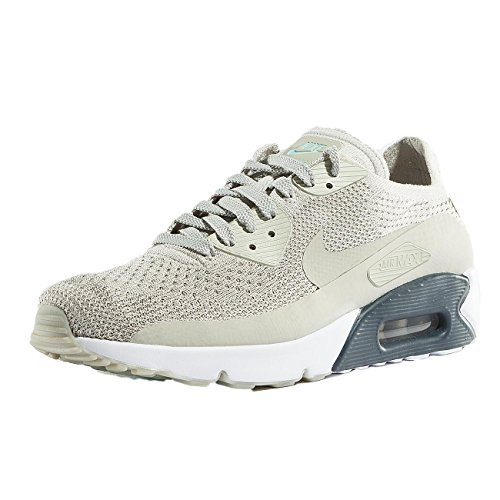 best authentic b0b54 495c7 Nike Mens Air Max 90 Ultra 2.0 Flyknit, Pale Grey Pale Grey, 8