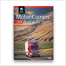 Rand mcnally 2017 deluxe motor carriers road atlas for us for Motor carriers road atlas download