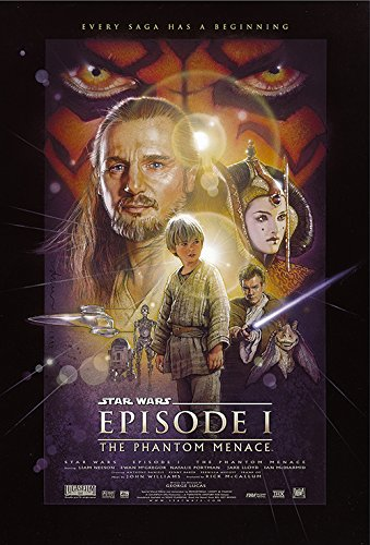 Buy star wars phantom menace poster