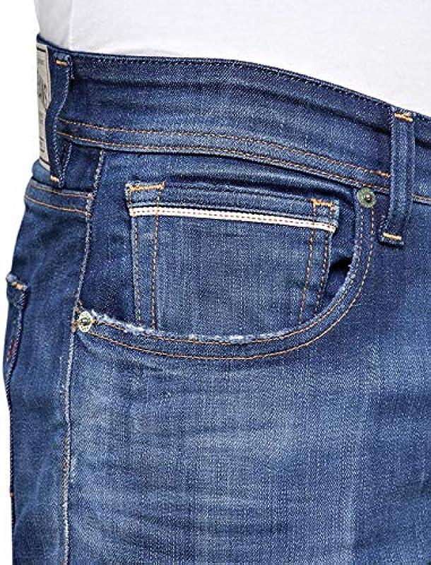 Replay Męskie dżinsy Grover Straight: Odzież