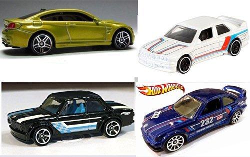 Hot Wheels BMW Exclusive '92 M3 + M4 Series & E36 Blue Race