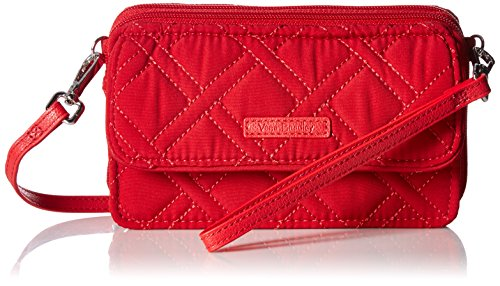 Vera Bradley RFID All in One Crossbody Vera, Cardinal red