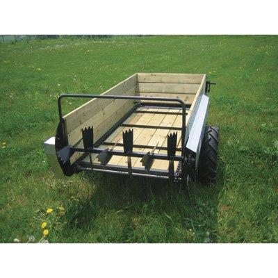 Farm Manure Spreader (Farm-Tuff Manure Spreader - 1800-Lb., 40-Bushel Capacity, Model# MS-4000G)