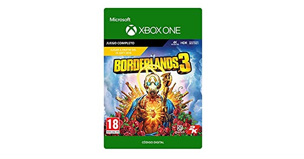 Borderlands 3 - Edición Estándar, Xbox One - Código de descarga ...