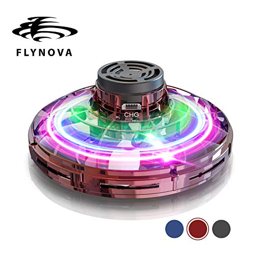 Flynova GOOLY Flying Toy Stress Relief UFO DroneToys Hand Operated Drone Finger Control Drone Free Flight Paths Creative Educational Toy Ideal for Children,Adult,Elderly,Group,Indoor,Outdoor from GOOLY