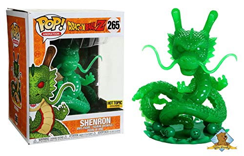 Dragon Ball Z Shenron Jade Hot Topic Exclusive Vinyl Pop Fi