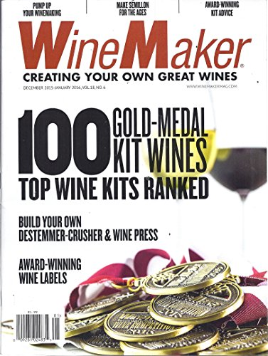 Wine Maker Magazine (December 2015-January 2016)