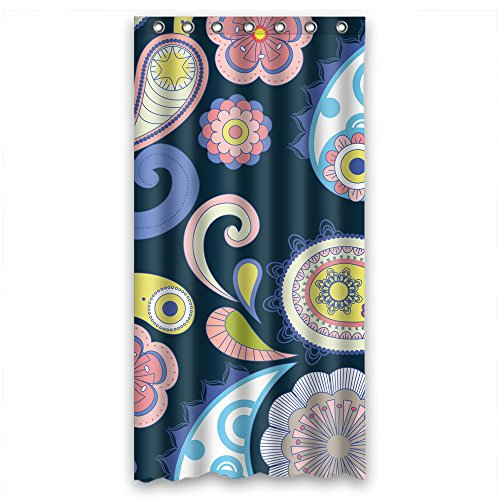 ZEEZON Width X Height / 36 X 72 Inches / W H 90 By 180 Cm Polyester Flower Bath Curtains Fabric Is Fit For Teens Artwork Valentine Her Teens. Dries (70s Roller Girl Costume)
