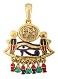 Egyptian Eye of Horus God Pendant Jewelry Accessory Egypt Necklace Art