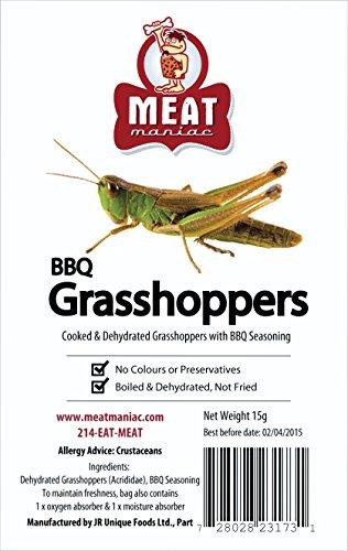 Meat Maniac BBQ GRASSHOPPERS