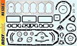Full Engine Gasket Set compatible with 1947-51 Ford 226 H-series Flathead w/Copper Head Gasket