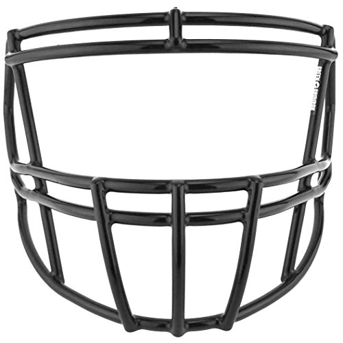 Green Gridiron Riddell Speed S2BD-SP Black Facemask (Riddell Face Mask)