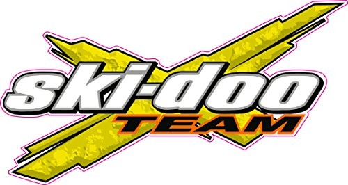 Team Ski-Doo Decal 6 inch Fast from the United States (Decals Doo Ski)