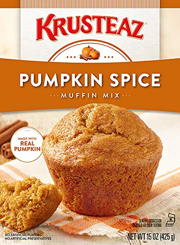 Breakfast Supreme (Krusteaz Pumpkin Spice Supreme Muffin Mix (Single Box 15oz))