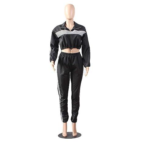 Chaqueta Clubwear Reflectante para Mujer Jogger Reflectante ...