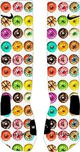 Donuts Nike Elite Socks (Small 4-6)