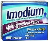 Imodium Multi-Symptom Relief Caplets 18 Caplets (12 Pack)