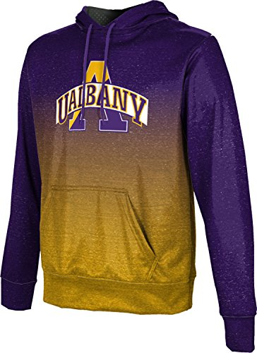 ProSphere University at Albany Men's Hoodie Sweatshirt - Ombre (Medium) Mens Albany Shoe