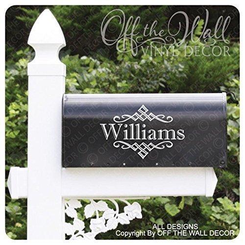 Vinyl Mailbox Lettering Decoration #D11