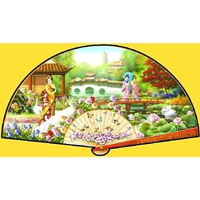 SUNSOUT INC Japanese Garden 1000 pc Jigsaw Puzzle: Toys & Games
