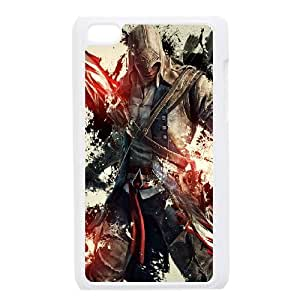 ipod touch 4 phone cases White Assassins Creed cell phone cases Beautiful gifts YWTS0431810