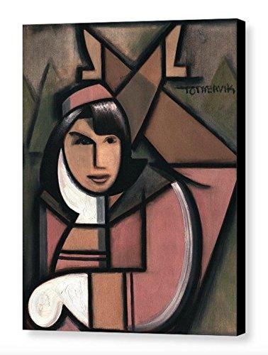 Tommervik Art Deco Jacqueline Kennedy Art Print JFK Art Gallery Wrapped Canvas Print ()