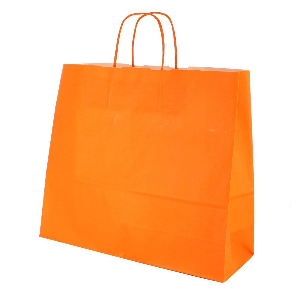 150 Tragetaschen Verona quer 36x12x31 Orange Orange Orange B00EXT4CIA | New Listing  aa7961