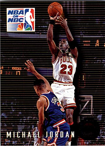 Michael Jordan MJ (5) Assorted Basketball Cards Bundle Chicago Bulls Trading Cards MVP # 23