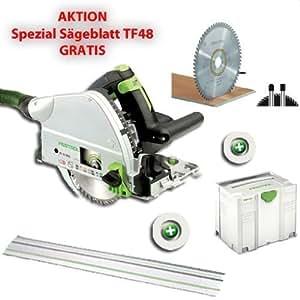 FESTOOL TS 55 AQR PLUS FS + Sierra Universal W28 496 302 Gratis