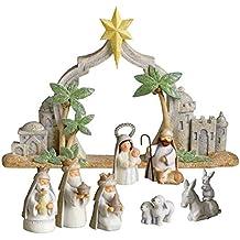 Grasslands Road Gifts of Glory Mini Nativity Scene, Resin