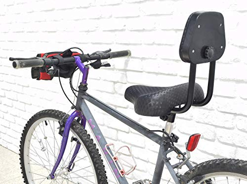 Monster Motion Bicycle Saddle Seat with Backrest: bicycle seats with back support