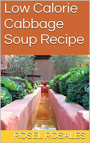 Low Calorie Cabbage Soup Recipe Diet (The Cabbage Soup Diet 7 Day Plan)