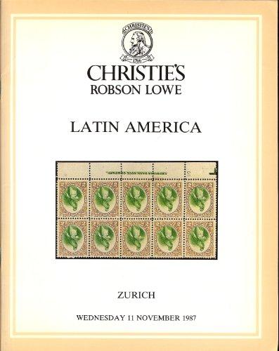Latin America (Stamp Auction Catalog) (Christie
