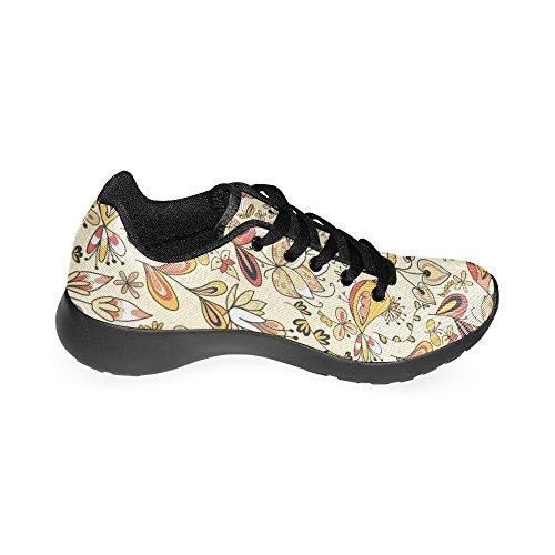 Mujer Negro Running de Zenzzle Zapatillas Lona para de Negro qT8EYxn6A