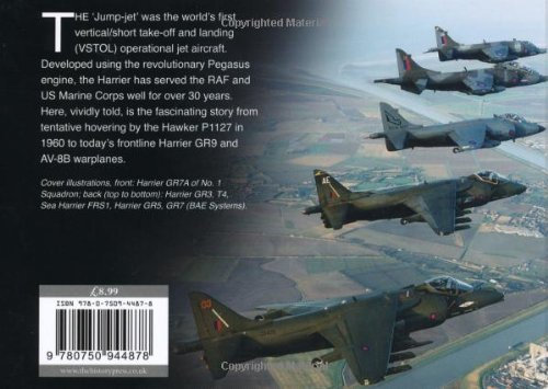 The Harrier Story Peter R March 9780750944878 Amazon Books