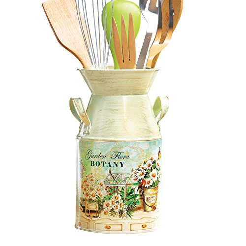 Country Vintage Inspired Canister Utensil