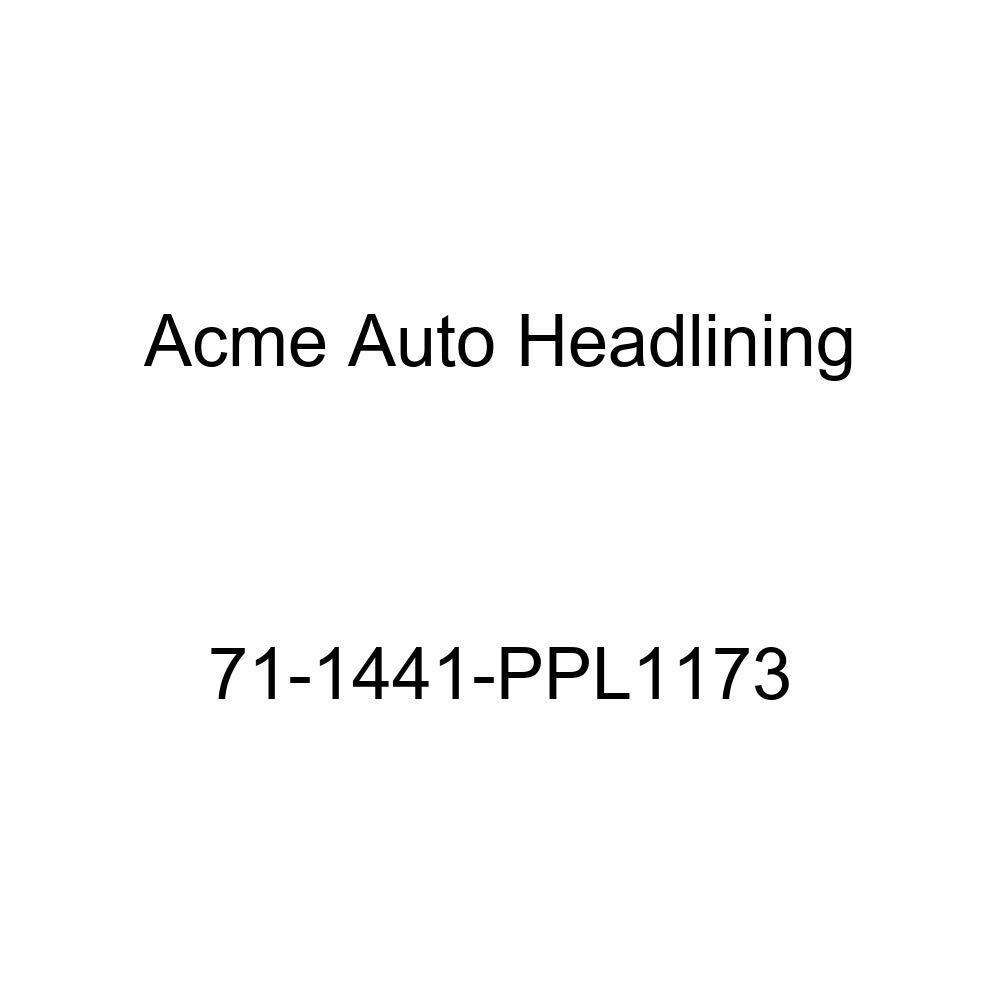 5 Bow Acme Auto Headlining 71-1441-PPL1173 Buckskin Replacement Headliner 1971 Chevrolet Chevelle 2 Door Hardtop