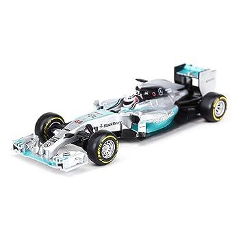 Modelo de Coche Mercedes-Benz F1 Formula 44 Racing Modelo 1 ...