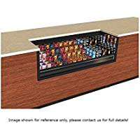 Structural Concepts CO53R-UC-E3 Express 3 Oasis Self Service Refrigerated Undercounter Case, 59-1/4 W x 32 D x 32-3/4 H