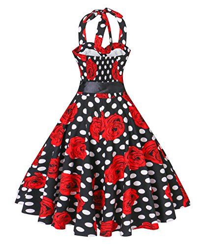 Valentine Polka Dots Cocktail Dresses