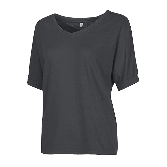 e67427f8882 Women s Casual Short Sleeve V Neck Solid T Shirt Blouse Tops at Amazon  Women s Clothing store
