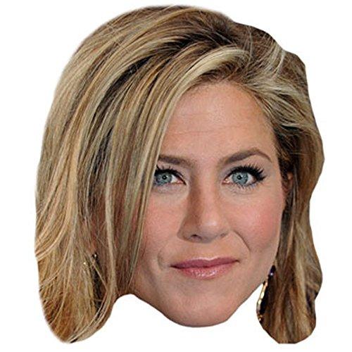 Jennifer Aniston Celebrity Mask, Cardboard Face and Fancy Dress Mask